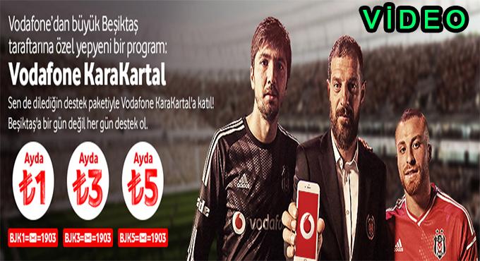 Beşiktaşlılar Vodafone KaraKartal ile Takımlarına Destek Oluyor
