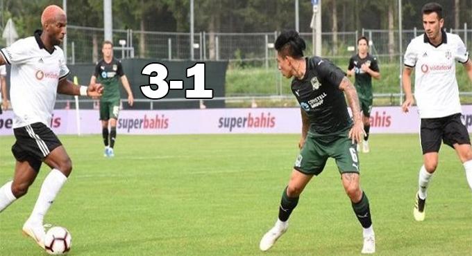 Beşiktaş Krasnodar'ı Rahat Geçti!