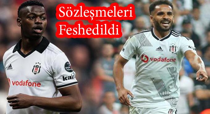 BEŞİKTAŞ'TA 2 AYRILIK!