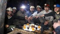 Maden Ocağında Yılbaşı Kutlaması