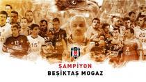 Beşiktaş Mogaz 36  Bş.Bld.Ankaraspor 29 ŞAMPİYON BEŞİKTAŞ