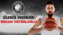 Erkan Veyseloğlu Beşiktaş'ta