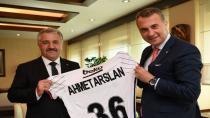 Fikret Orman, Bakan Ahmet Arslan'ı Ziyaret  Etti