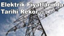 Elektriğe Yüzde 1200 Artış