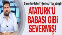 """Rasim Ozan Kütahyalı Şimdi de Atatürk'e """"Dümen"""" Kırdı!"""