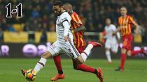 Beşiktaş Kayseri'de 2 Puan Bıraktı!