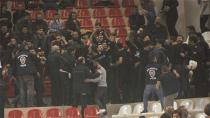 Beşiktaş Maçında Olay Çıktı!