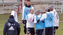 Bayern Münih'in Antrenmanında Ortalık Karıştı!