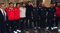 Gomez Bayern Maçı öncesi Beşiktaş'a Ziyaret Etti!