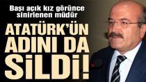 Milli Eğitim Müdürü Atatürk'ün Adını Genelgeden Sildi!