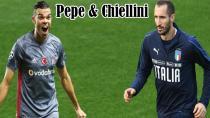 Chiellini 'Pepe'nin Beşiktaş'ta Oynamasına Şaşırdım!'
