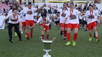 Beşiktaş Kadın Futbol Takımı Şampiyon Oldu!