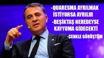 FİKRET ORMAN'DAN GÜNDEME DAİR OLAY AÇIKLAMALAR!