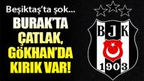 Beşiktaş'ta Sakatlık Kabusu Devam Ediyor!