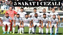 Beşiktaş Sivas'a 6 Eksikle Gidiyor!